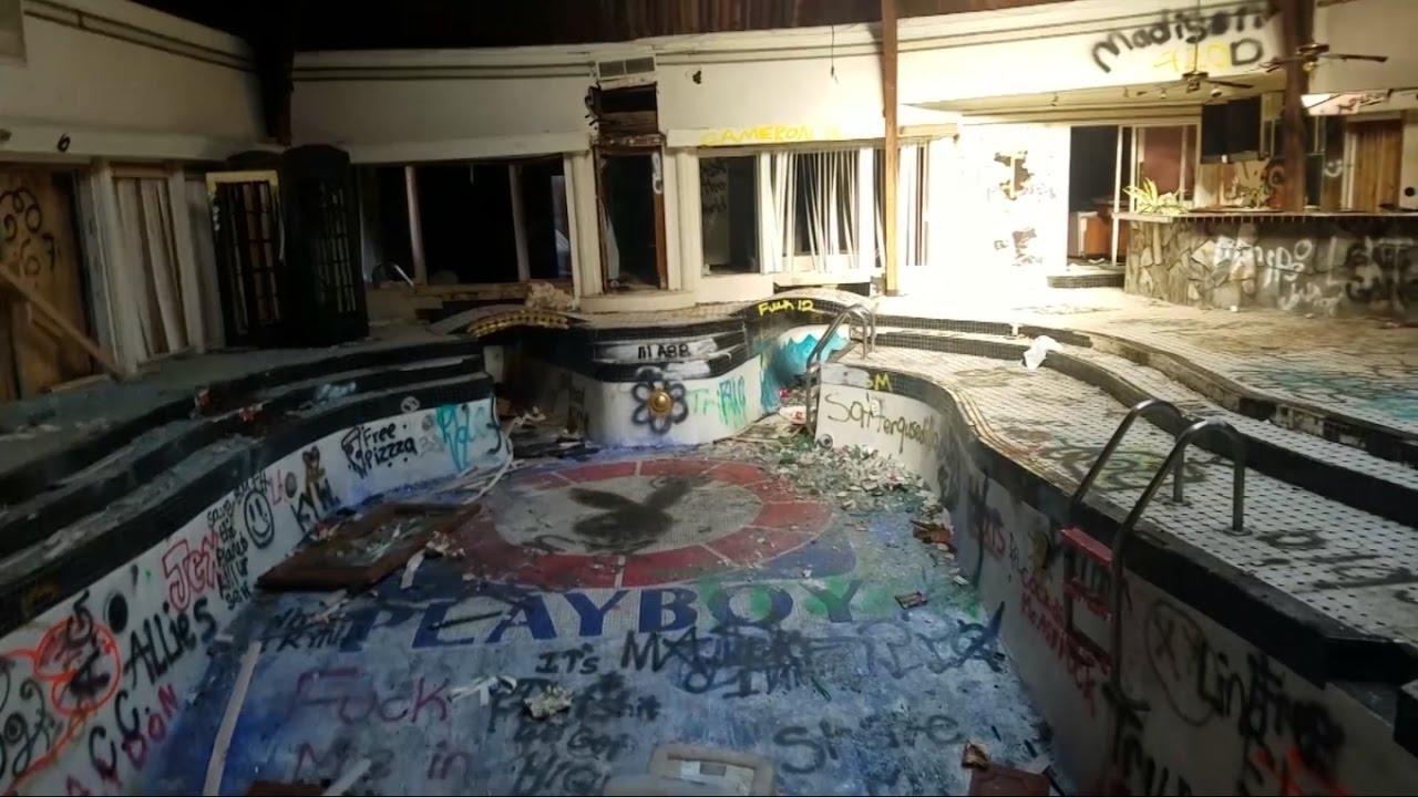 Insane Abandoned Playboy Mansion W Indoor Pool - Youtube-7682