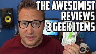 The Awesomist Reviews: Geek App Trio of Products