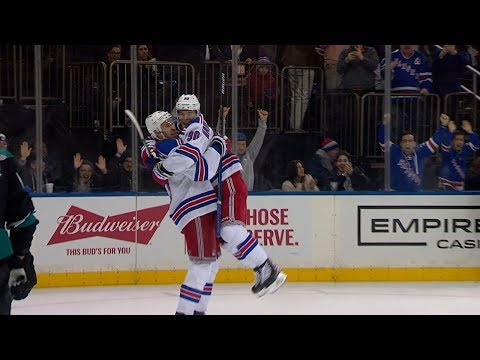 Kevin Hayes puts Rangers on top with clutch SHG