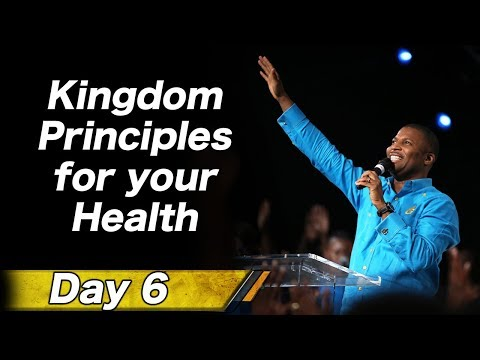 Pastor Gregory Toussaint I 7 Nights of Dominion I Kingdom Principle for your Health | TG
