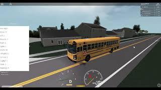 roblox school bus driving 1st rotue