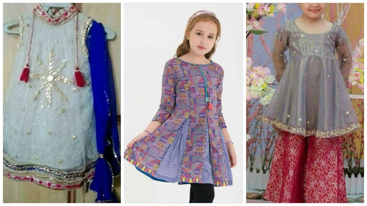 95b0f51bd Beautifull Babies Eid Dresses collection 2019-20 - YouTube