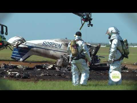 Plane Crash @ #Laredo International Airport