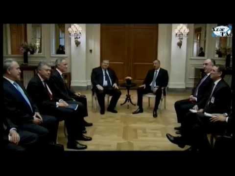 Prezident İlham Əliyev Evangelos Venizelos ilə görüşüb