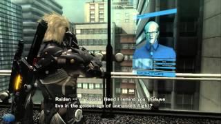 Metal Gear Rising The Movie (Full Plathrough All Cutscenes)