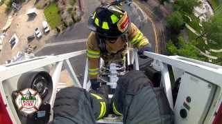 Boise Fire Academy Ladder Training