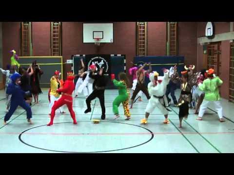 harlem shake karate forchheim
