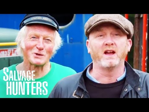 Exploring A Fantastic Converted Train Station Full Of Hidden Gems | SERIES 12 | Salvage Hunters