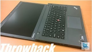 Throwback: Lenovo Thinkpad T440 14