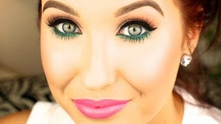 Pop of Color Makeup Tutorial | Spring 2014 | Jaclyn Hill
