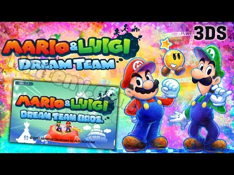 Mario Luigi Dream Team 3ds Decrypted Play On Pc With Citra On