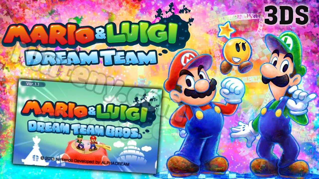 Mario Luigi Dream Team 3ds Decrypted Play On Pc With Citra On Ninteny Com From Pokemoner Com Youtube