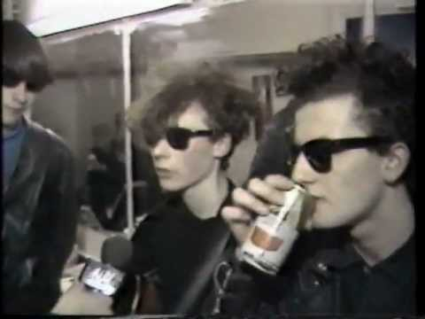 The Jesus and Mary Chain - Interview + Live London 1985