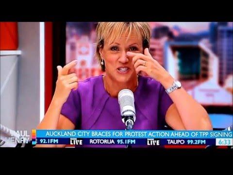 Hilary Barry' Watch As Hilary Cracks Up On The  Paul Henry Show.