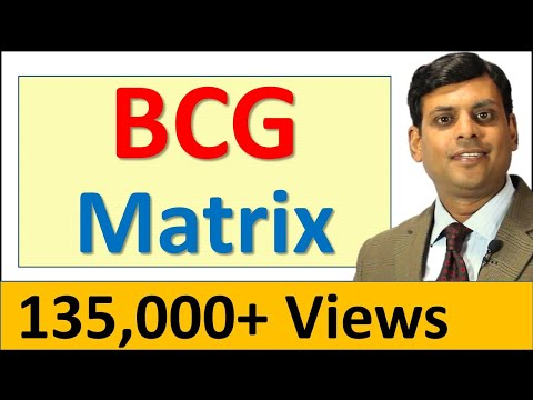 5. BCG Matrix - Marketing Management Video Lecture by Prof. Vijay Prakash Anand