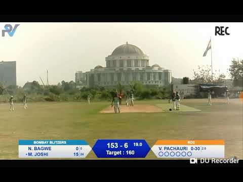 ||ROSHAN CRICKET CLUB VS BOMBAY BLISTERS || Thrilling Encounter Till Last Ball Of Inning ||
