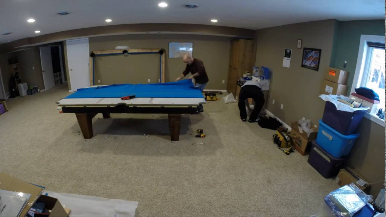 Diamond Billiards Professional Table Install YouTube - 9ft diamond pool table