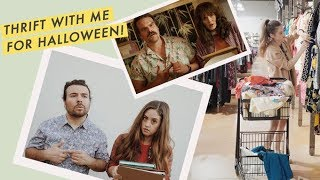 THRIFT WITH ME for Halloween Costumes | Alli Cherry