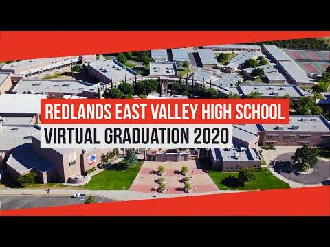 Redlands East Valley High School Virtual Graduation 2020