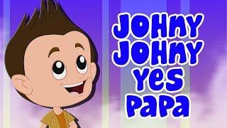johny johny si papa | niños rimas | Johny Johny Rhymes | Cartoon Town Español | Canciones Infantiles
