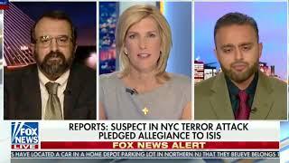 @Harris_Zafar with Laura Ingraham on NY Terror attack 2017