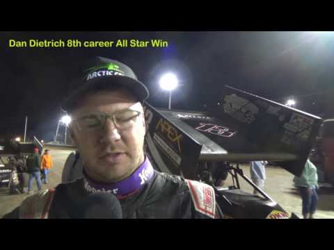 Dan Dietrich-Artic Cat All Star Circuit of Champions Victory Lane Lebanon Valley Speedway