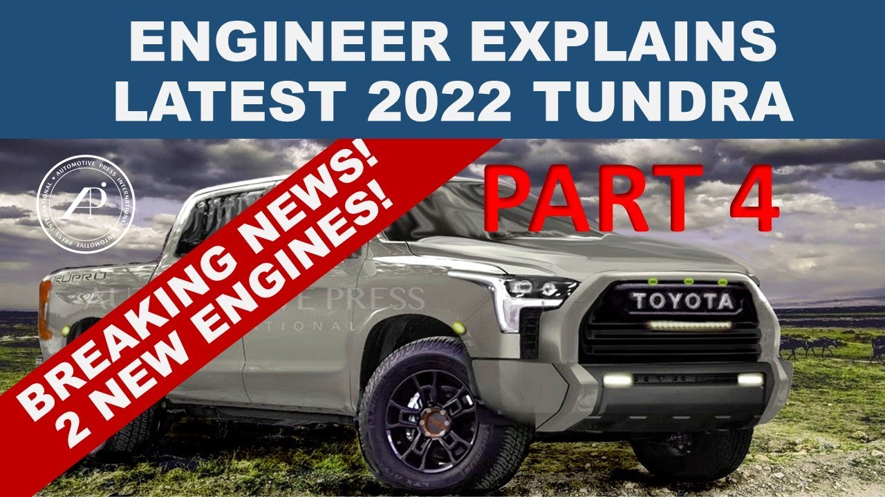 """BREAKING NEWS! 2022 TOYOTA TUNDRA WILL HAVE 2 NEW ENGINES - One of them will """"blow you away!"""""""