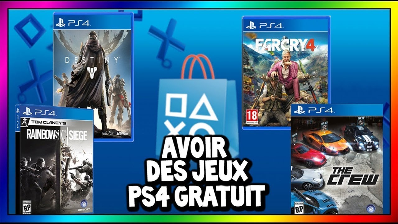 exclu comment avoir des jeux du psn gratuit 2017 ps4 youtube. Black Bedroom Furniture Sets. Home Design Ideas