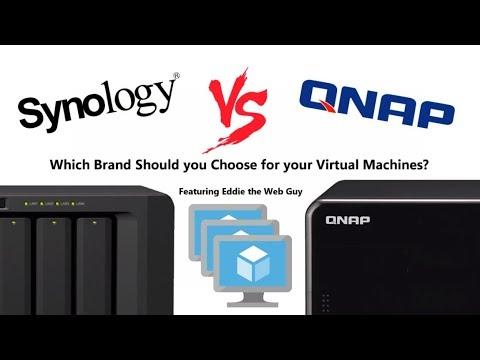 Synology Vs QNAP - NAS for Virtual Machines