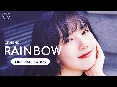 GFRIEND - Rainbow (Line Distribution)