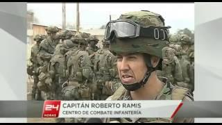 Ejercito de Chile Centro de Combate Infantería.
