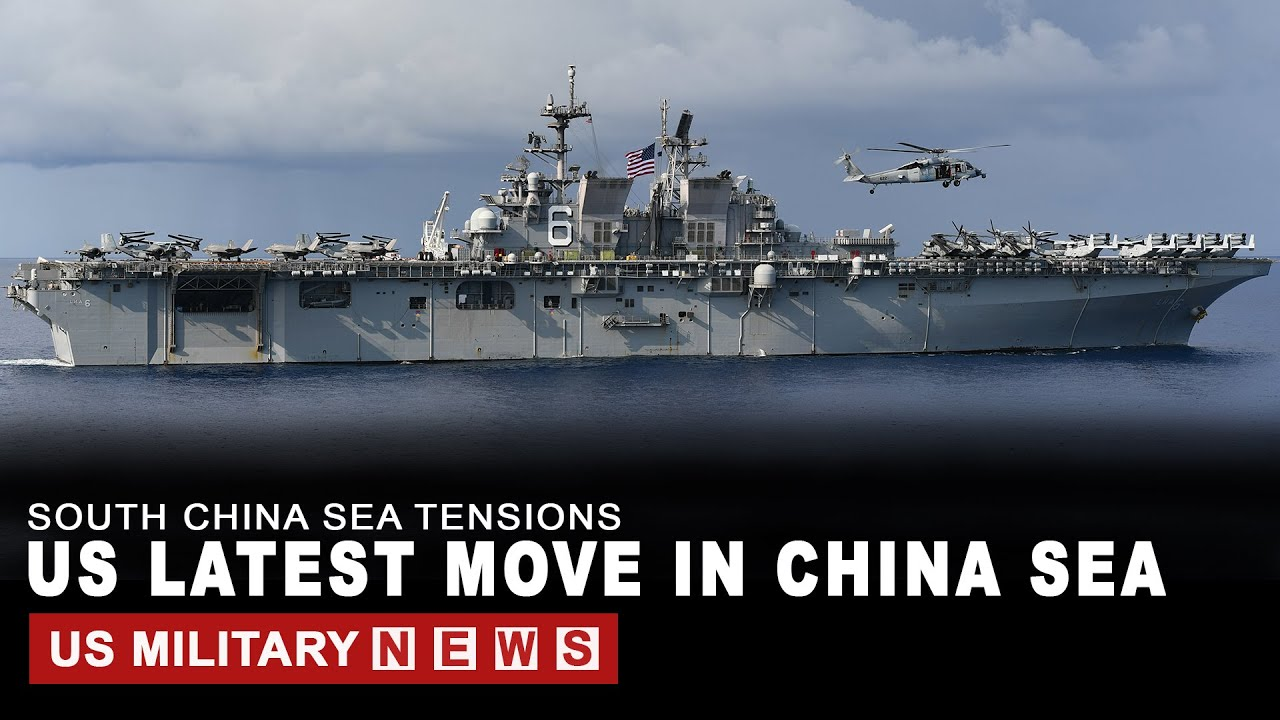US Latest move in the South China Sea