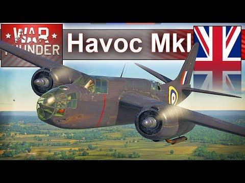 Havoc Mk I - Za szybki dla przeciwnika :) - BITWA - War Thunder
