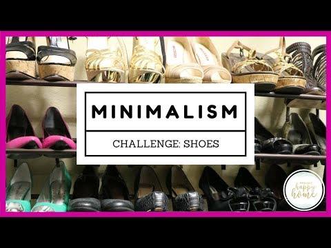 Minimalism Mom Challenge: Declutter Shoes    Realistic Minimalism Bite 5