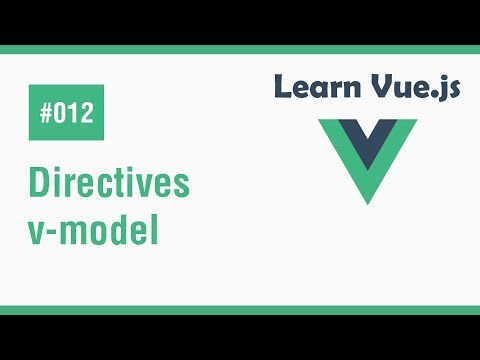 Learn Vue.js In Arabic #12 - Directives - v-model thumbnail