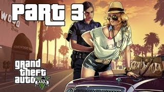 Grand Theft Auto 5 Walkthrough Gameplay w/ Commentary Part 3 - Repo the Bike (Xbox 360)