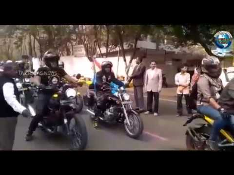 Bike Rally organized by City Civil Court Legal Services Authority for Women Safety and Justice