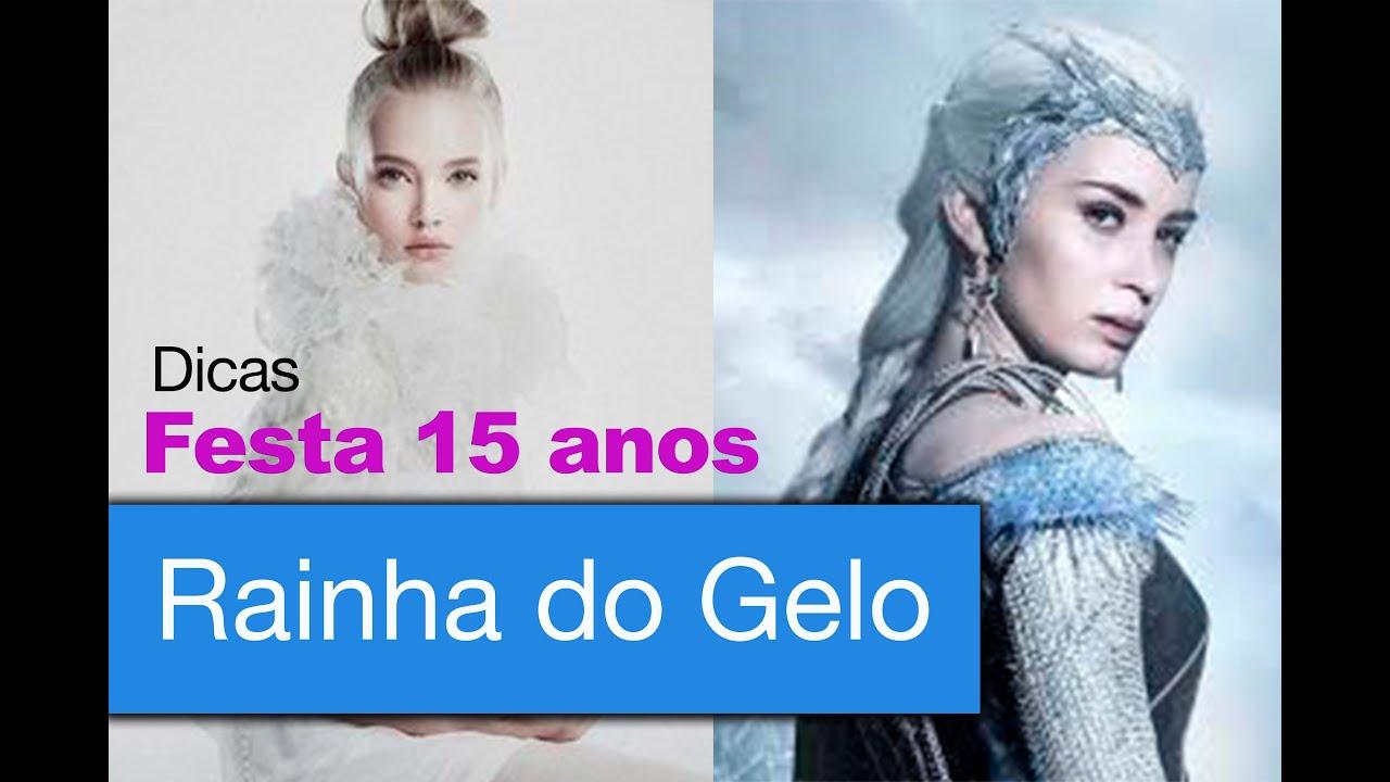 FESTA DE 15 ANOS TEMA RAINHA DO GELO