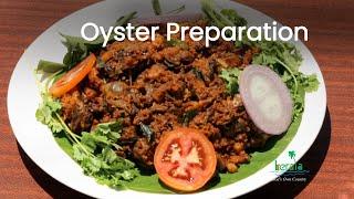 Oyster Preparation