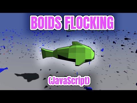 Flocking Simulation: Boids (JavaScript)