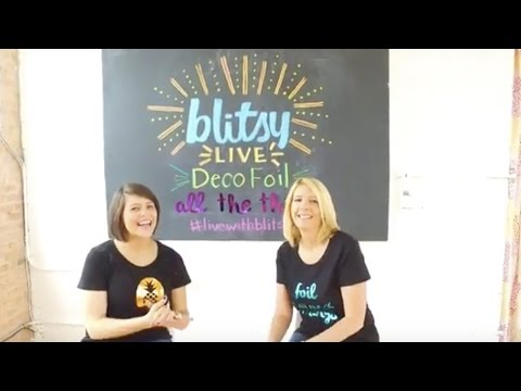 Live: Learn How To Add Deco Foil to Everything!