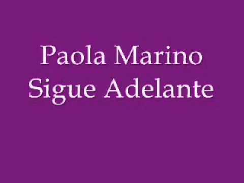 Paola Marino - Sigue Adelante