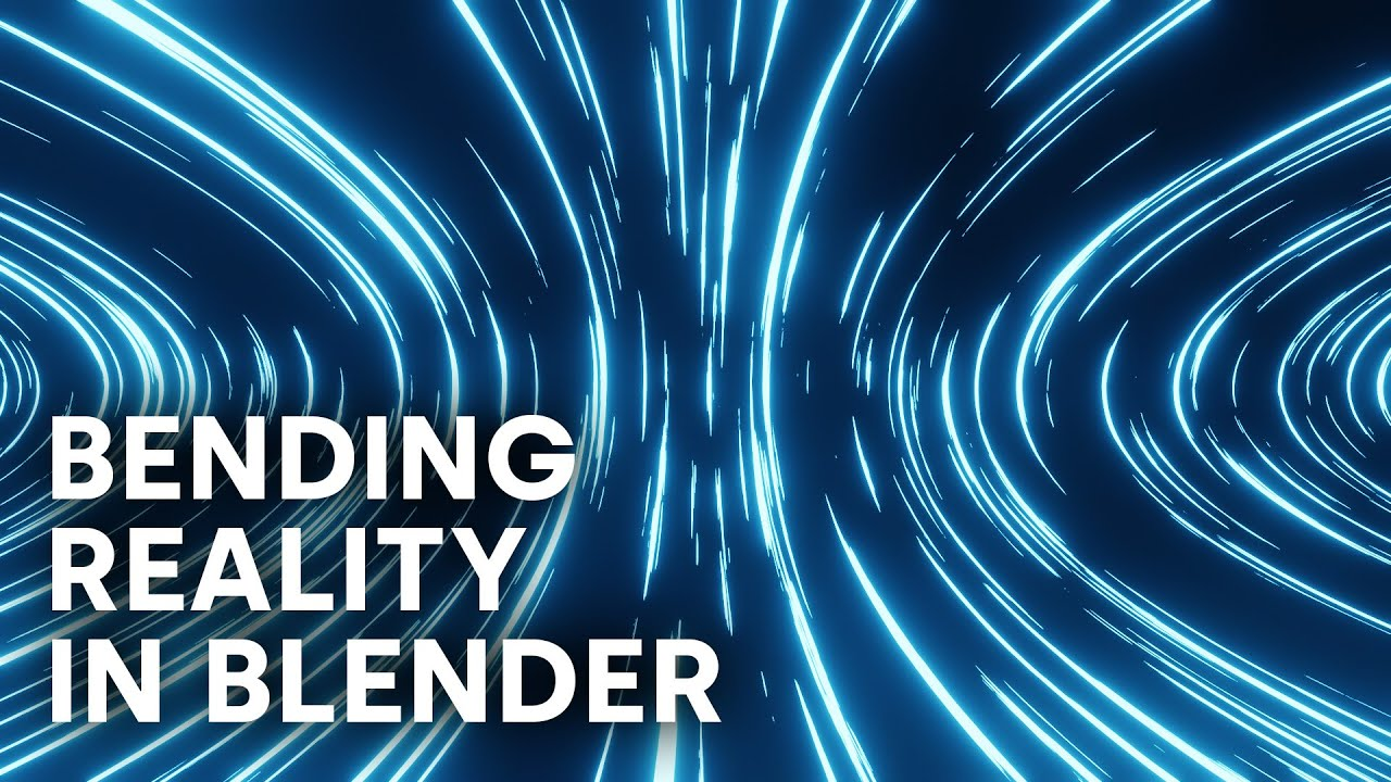 Bending Reality in Blender With Eevee (Blender Beginner Tutorial)