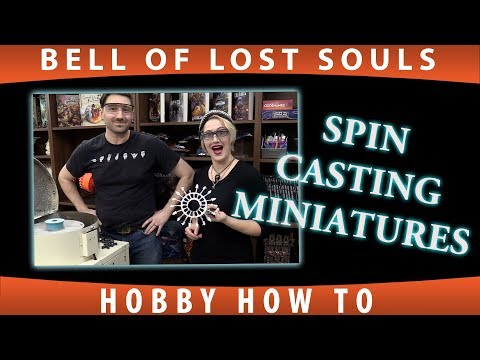 BoLS How To |  Spin Casting Miniatures