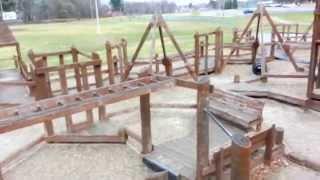 629 - Cool Wooden Playground Pov