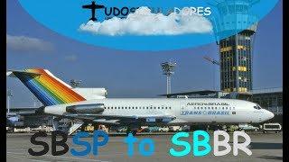 Live Stream - Voo de Congonhas para Brasilia 727-100 Captain Sim IVAO