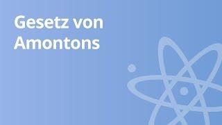Gasgesetze: Gesetz von Amontons | Physik | Wärmelehre