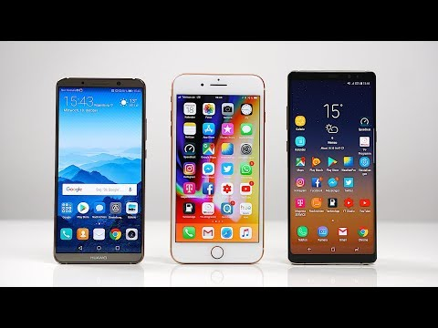Huawei Mate 10 Pro vs. Apple iPhone 8 Plus vs. Samsung Galaxy Note 8: Benchmark | SwagTab