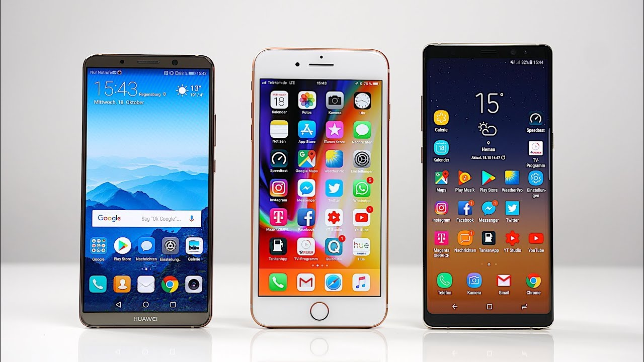Iphone 8 Plus Vs Huawei Mate 10 Pro