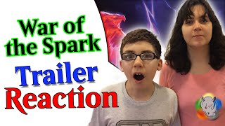 #MTGWAR of the Spark Trailer Reaction